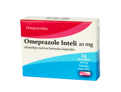 omeprazole inteli 20mg caps n14