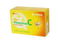 vit c prolong 500mg caps n30 farmax