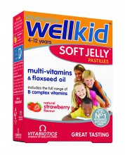 wellkid soft jelly 30 pastilles