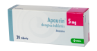 Apaurin 5mg tabletės obduct.N30