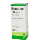 Betadine 100 mg/ml odos tirpalas, 120 ml