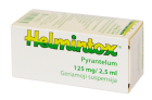 Helmintox 125 mg/2,5 ml geriamoji suspensija, 15 ml