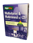 highway multivitaminai multimineralai 50 tabletes n30