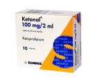 Ketonal 100mg/2ml inj.N10