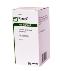 Klacid 125mg/5ml susp. 60ml