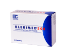 Klerimed 500mg film-coated tabletės N14