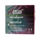 Prezervatyvai Actual Sensitive, N4
