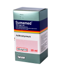 Sumamed 100mg/5ml milt.ger.susp. 20ml