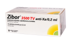 Zibor 3500TV anti-Xa/0.2ml užp.šv.N10