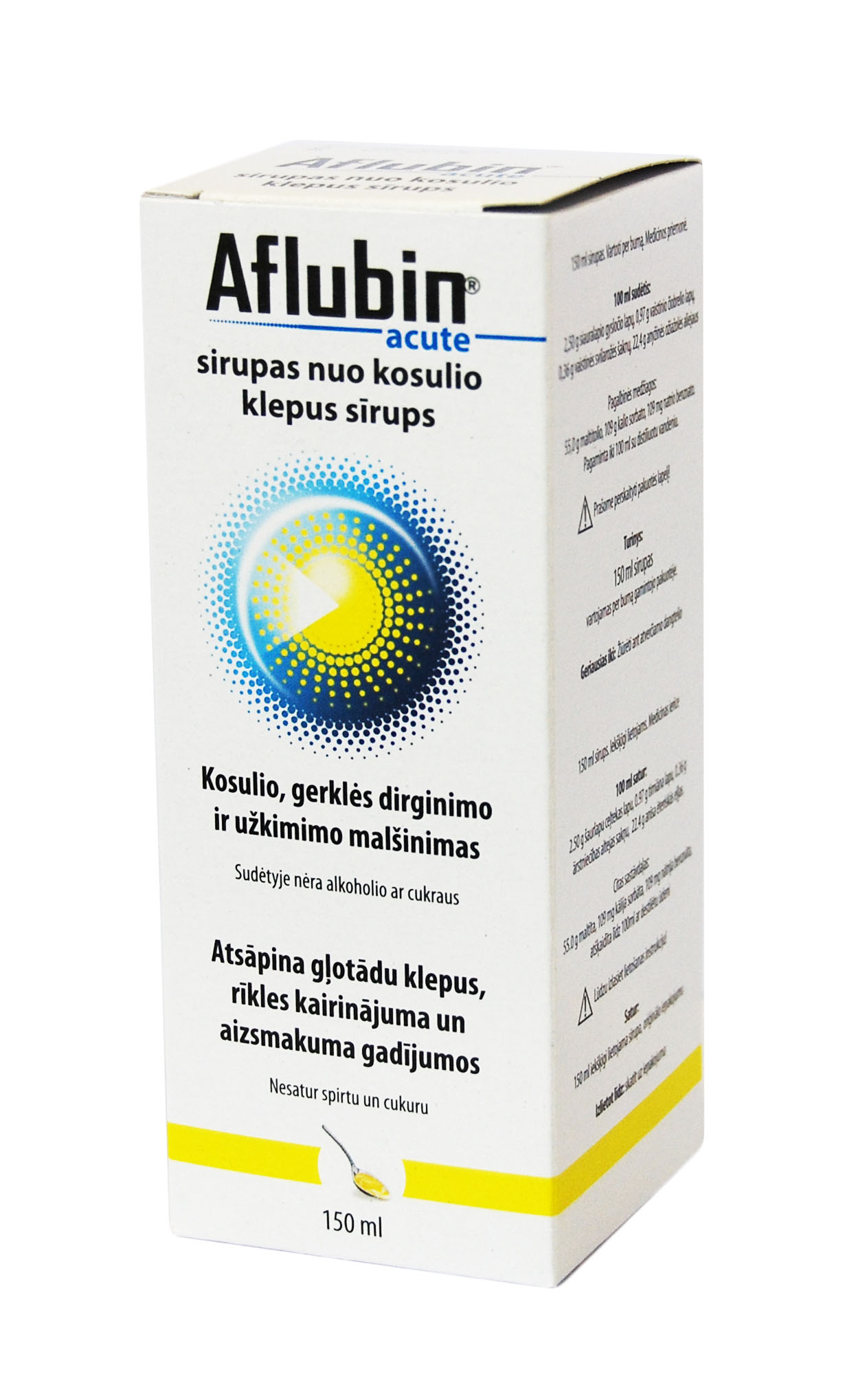 How to take Aflubin