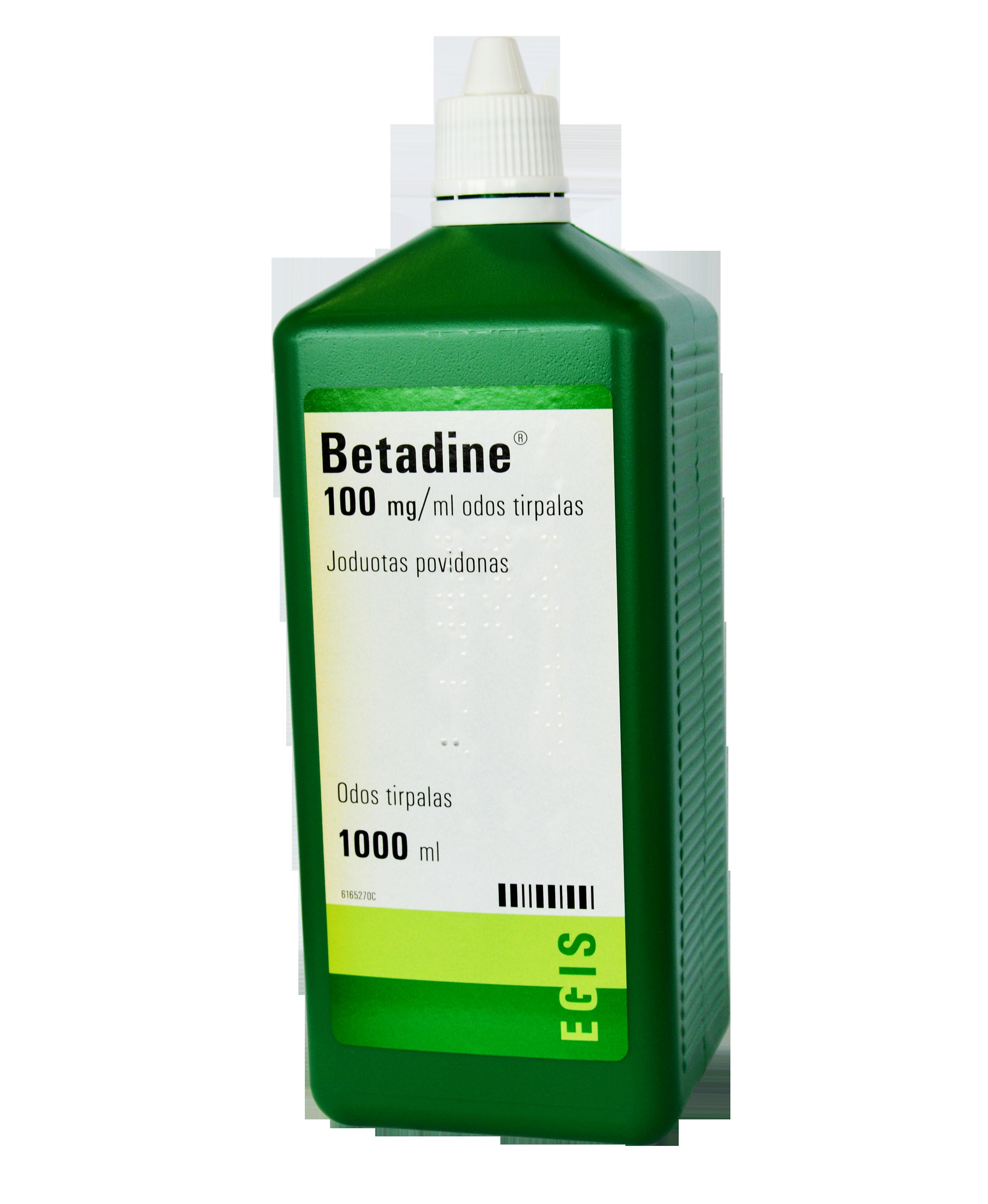 Betadine 1000 Ml Yra Antimikrobinis Dezinfekuojantis Vaistas 5 Naikinantis Bakterijas Grybelius Sporas Virusus